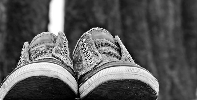 Schuhe laden ein